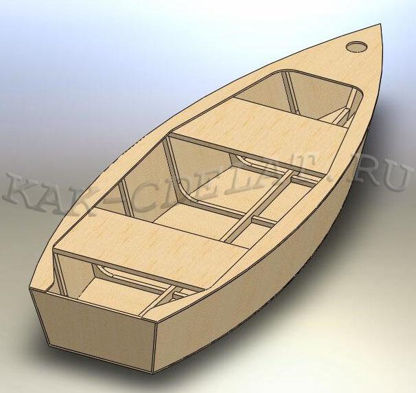 Как построить деревянную лодку своими руками плоскодонку
