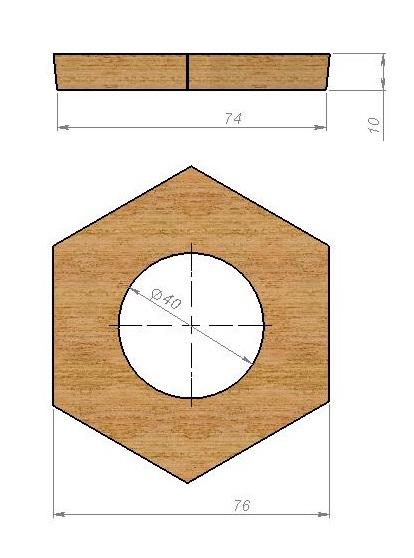 Рисуем шестигранник