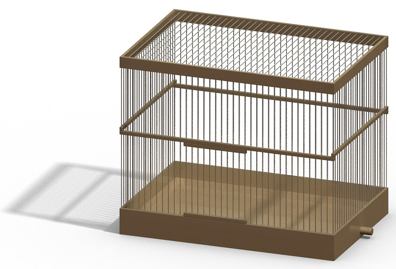 Клетка для птиц своими руками видео