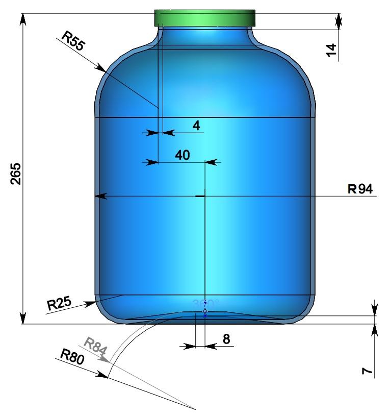 Размеры трехлитровой стеклянной банки - ba