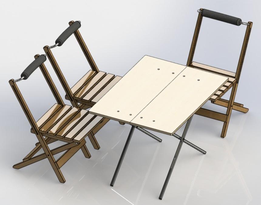 Раскладной стол своими руками в домашних условиях 29