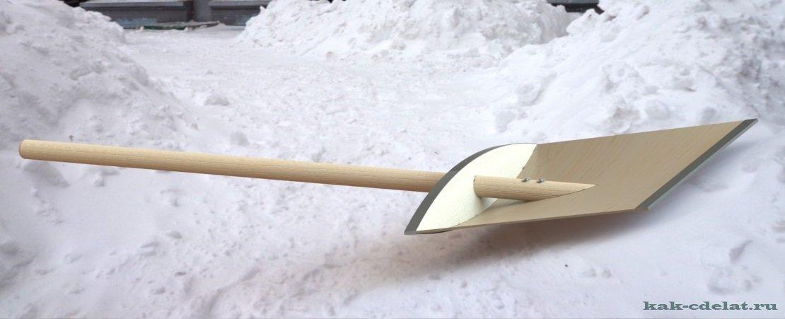 Деревянная лопата своими руками