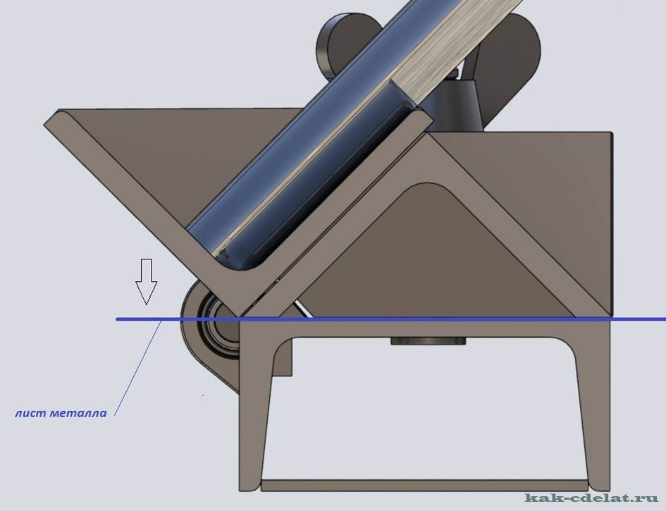 Станок для гибки листового металла своими руками