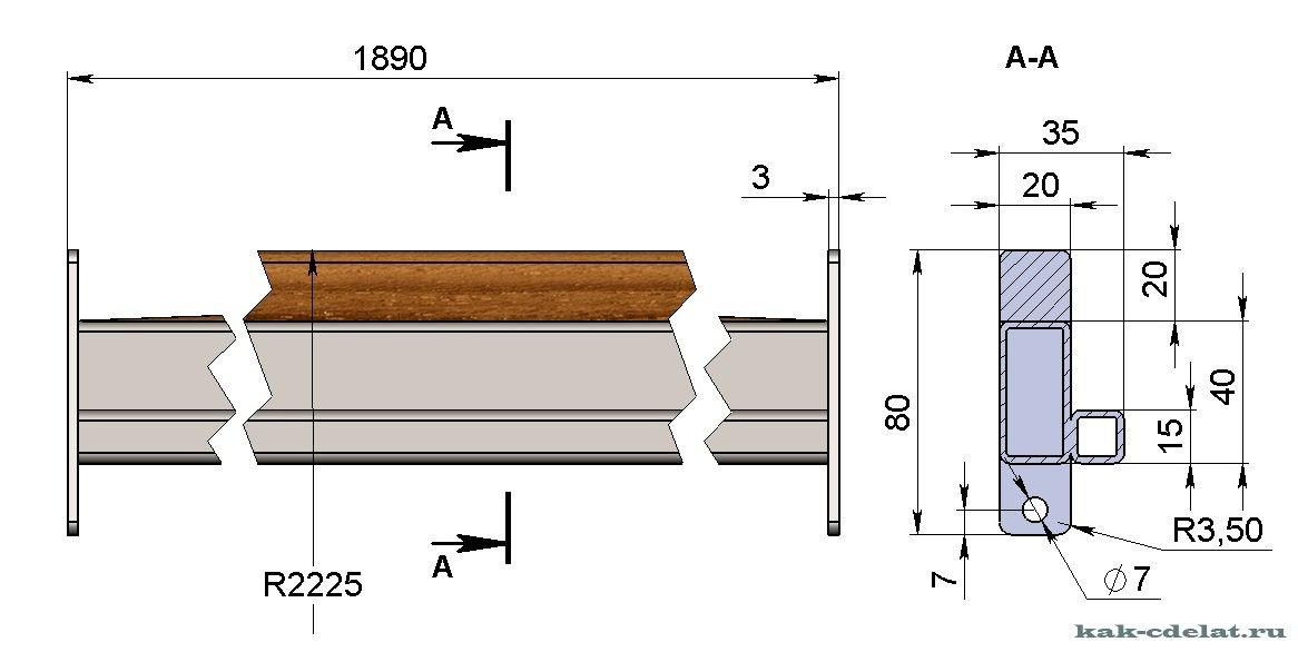 Кровать-трансформер двуспальная своими руками чертежи