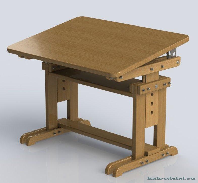 Стол парта для школьника своими руками