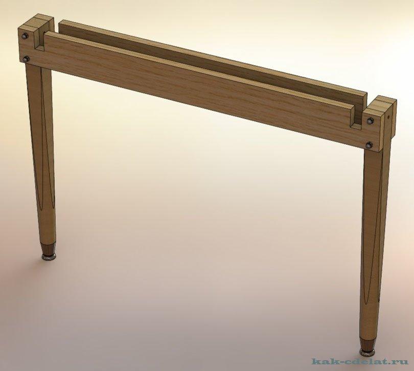 Маникюрный стол своими руками по чертежу 14