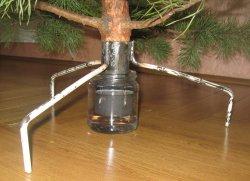 Подставка для елки из металла своими руками