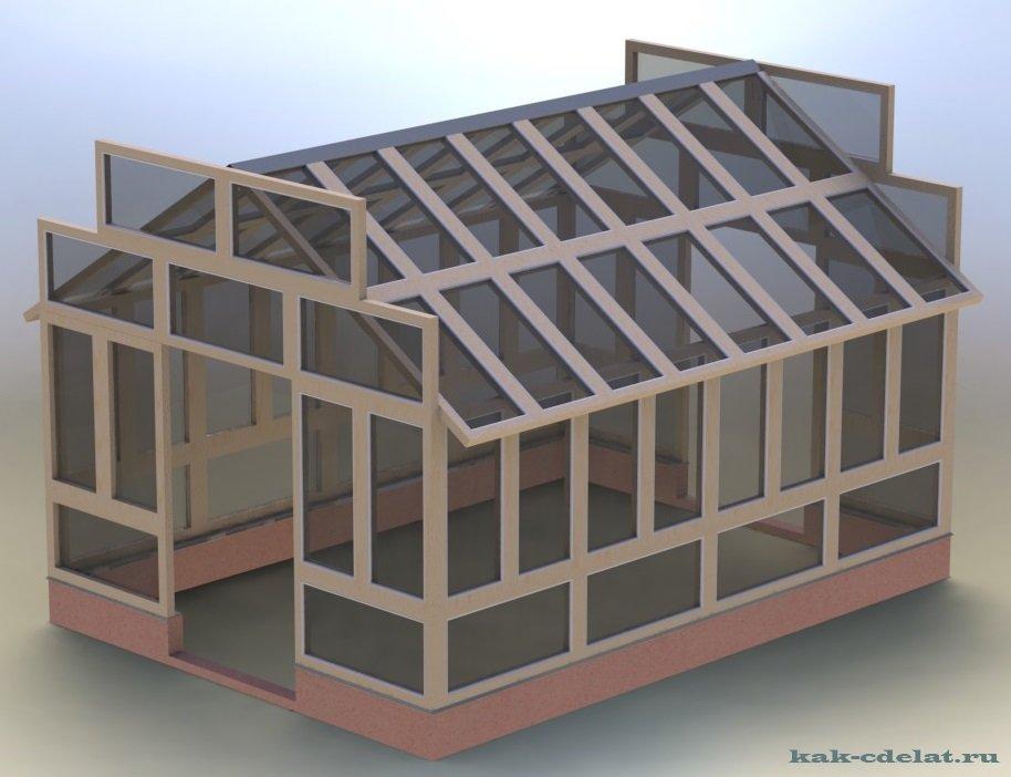 Крыша на теплицу из оконных рам своими руками8