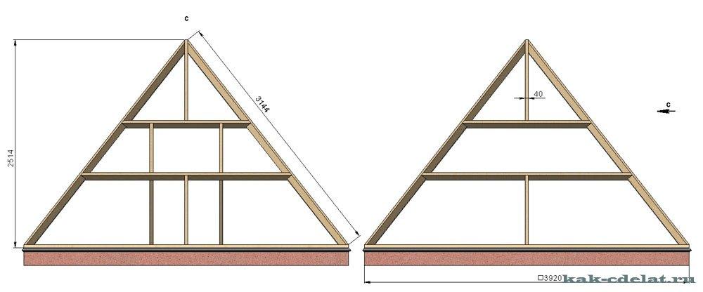 Построить своими руками пирамиду