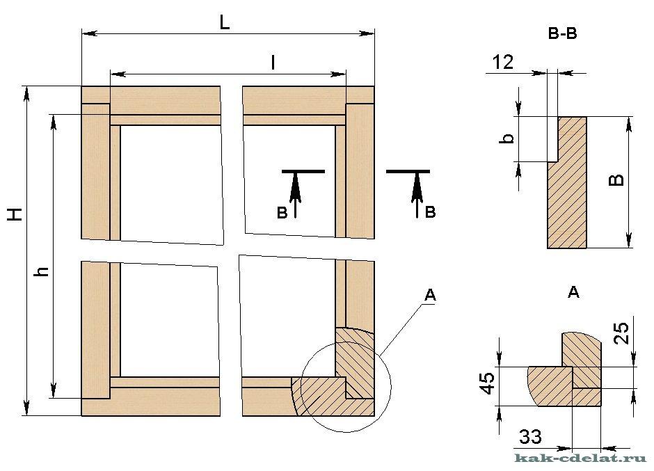 Коробка для двери своими руками из дерева 22