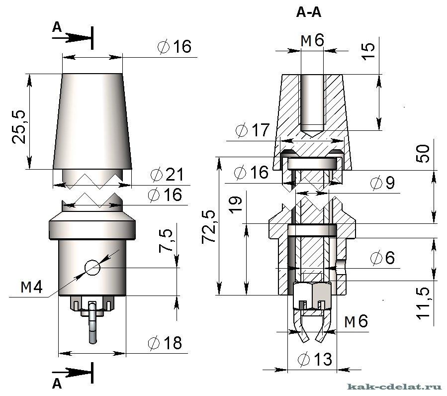 Изготовление флюгера своими руками чертеж флюгера 131