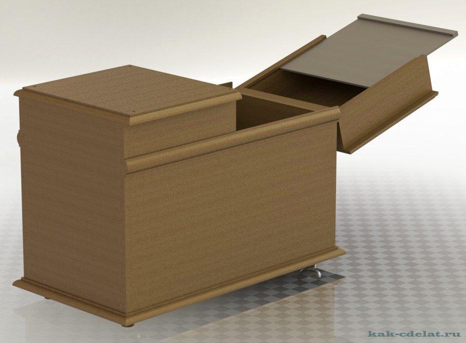 Здесь можно купить мебель из дерева или