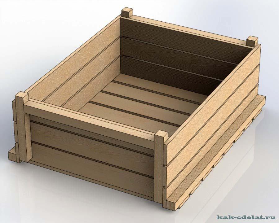Ящик из доски своими руками 60