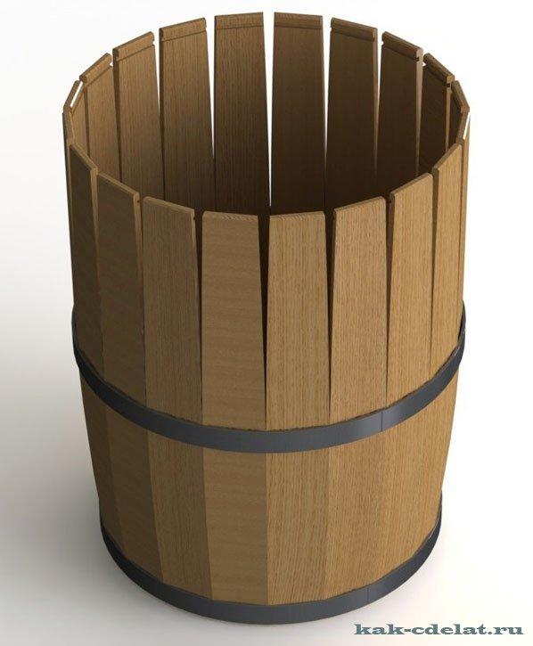 Как своими руками сделать деревянную бочку своими руками