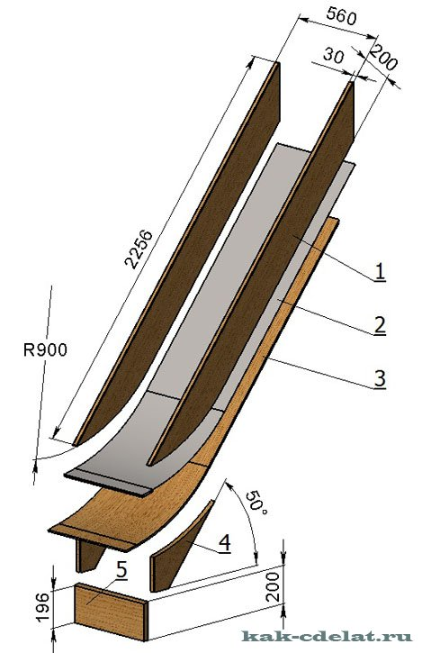 Подставка для ножей сделаны своими руками