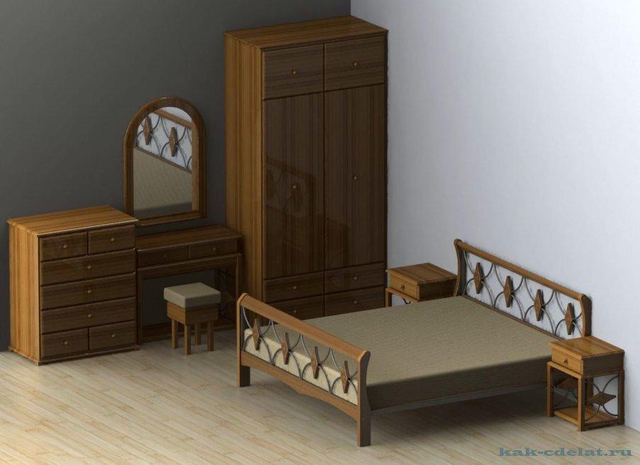 Как сделать мебель для спальни своими руками