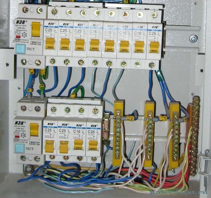 учета электроэнергии схема