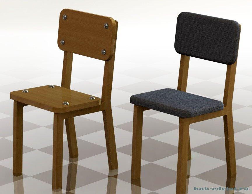 Как сделать стол и стул для куклы своими руками